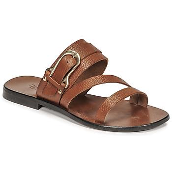 Παπούτσια Γυναίκα Σανδάλια / Πέδιλα Fericelli STAMP Camel