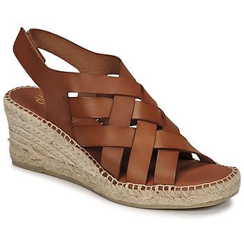 Παπούτσια Γυναίκα Σανδάλια / Πέδιλα Fericelli ODALUMY Camel