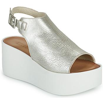 Παπούτσια Γυναίκα Σανδάλια / Πέδιλα Sweet Lemon PYTON Silver