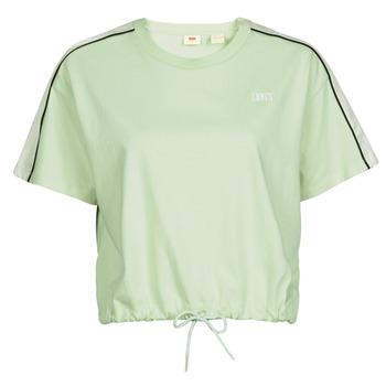 T-shirt με κοντά μανίκια Levis GINGER NYLON PIECED TEE BOK CHOY, TOFU CAVIAR
