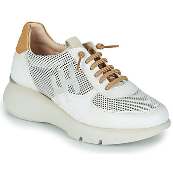 Παπούτσια Γυναίκα Χαμηλά Sneakers Hispanitas TELMA Άσπρο / Gold