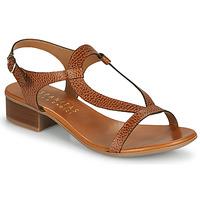 Παπούτσια Γυναίκα Σανδάλια / Πέδιλα Hispanitas LOLA Brown