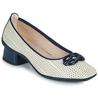 Παπούτσια Γυναίκα Γόβες Hispanitas FIONA Άσπρο / Μπλέ