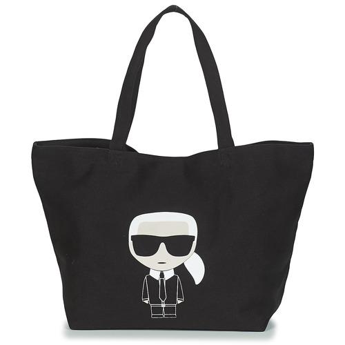 Τσάντες Γυναίκα Cabas / Sac shopping Karl Lagerfeld K/IKONIK KARL TOTE Black