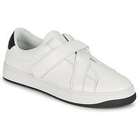 Παπούτσια Γυναίκα Χαμηλά Sneakers Kenzo ENZO KOURT SCRATCH SNEAKERS Άσπρο