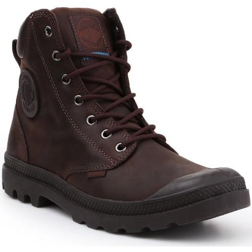 Παπούτσια Ψηλά Sneakers Palladium Manufacture Pampa Cuff WP LUX 73231-249-M brown