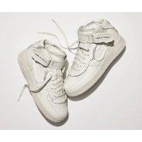 Παπούτσια Χαμηλά Sneakers Nike Air Force 1 high x Comme des Garçons WHITE/WHITE-BLACK WHITE