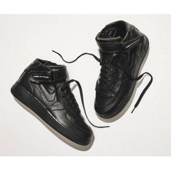 Παπούτσια Ψηλά Sneakers Nike Air Force 1 high x Comme des Garçons  BLACK/BLACK-WHITE-BLACK