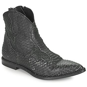 Παπούτσια Γυναίκα Μπότες Mimmu PYTHON INTAG Black