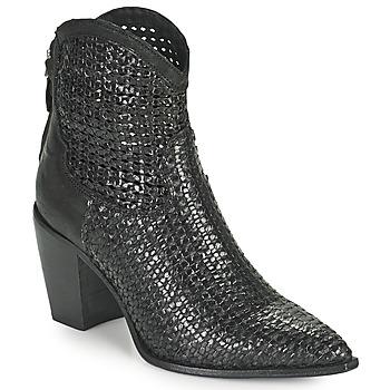 Παπούτσια Γυναίκα Μποτίνια Mimmu INTRECCIO NERO Black