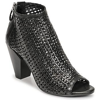 Παπούτσια Γυναίκα Χαμηλές Μπότες Mimmu INTRECCIO-NERO-PARKER Black