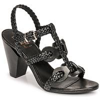 Παπούτσια Γυναίκα Σανδάλια / Πέδιλα Mimmu TRECCIA-P-NERO Black