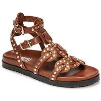 Παπούτσια Γυναίκα Σανδάλια / Πέδιλα Mimmu VITELLO-CUOIO Brown