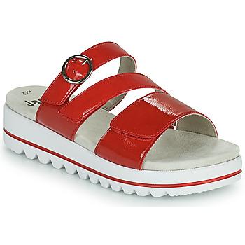 Παπούτσια Γυναίκα Τσόκαρα Jana JANITA Red