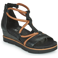 Παπούτσια Γυναίκα Σανδάλια / Πέδιλα Mjus TAPASITA Black / Camel
