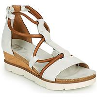 Παπούτσια Γυναίκα Σανδάλια / Πέδιλα Mjus TAPASITA Άσπρο / Camel