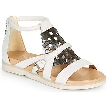 Παπούτσια Γυναίκα Σανδάλια / Πέδιλα Mjus KETTA Άσπρο / Argenté