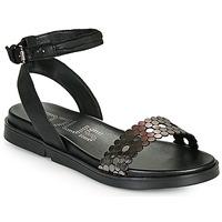 Παπούτσια Γυναίκα Σανδάλια / Πέδιλα Mjus KETTA Black / Silver