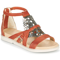 Παπούτσια Γυναίκα Σανδάλια / Πέδιλα Mjus KETTA Brique / Silver