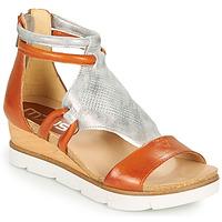 Παπούτσια Γυναίκα Σανδάλια / Πέδιλα Mjus TAPASITA Brique / Silver