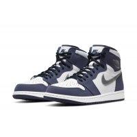 Παπούτσια Multisport Nike Air Jordan 1 Og JP Midnight  White/Midnight Navy-Metallic Silver