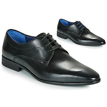 Παπούτσια Άνδρας Derby Azzaro VILLAGE Black