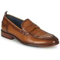 Παπούτσια Άνδρας Μοκασσίνια Azzaro NORDEN Cognac