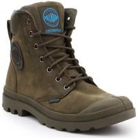Παπούτσια Ψηλά Sneakers Palladium Pampa Cuff WP LUX 73231309 olive green