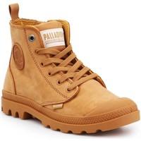 Παπούτσια Γυναίκα Ψηλά Sneakers Palladium Pampa HI ZIP NBK 96440-717-M brown