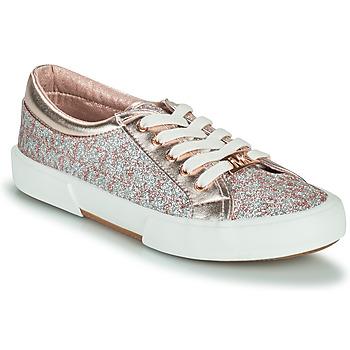 Παπούτσια Κορίτσι Χαμηλά Sneakers MICHAEL Michael Kors IMA TINSEL Ροζ / Χρυσο / Silver