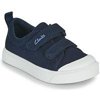 Παπούτσια Παιδί Χαμηλά Sneakers Clarks CITY BRIGHT T Marine