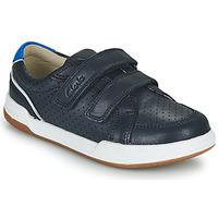 Παπούτσια Παιδί Χαμηλά Sneakers Clarks FAWN SOLO K Marine