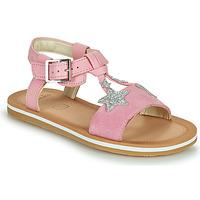 Παπούτσια Κορίτσι Σανδάλια / Πέδιλα Clarks FINCH SUMMER K Ροζ