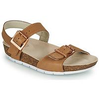 Παπούτσια Παιδί Σανδάλια / Πέδιλα Clarks RIVER SAND K Camel