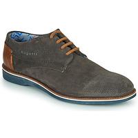 Παπούτσια Άνδρας Derby Bugatti MELCHIORE Grey / Fonce