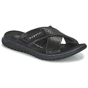 Παπούτσια Άνδρας σαγιονάρες Bugatti IDAHO Black