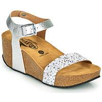Παπούτσια Γυναίκα Σανδάλια / Πέδιλα Plakton SO KISS Silver