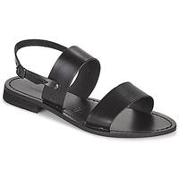 Παπούτσια Γυναίκα Σανδάλια / Πέδιλα Dream in Green OBELLA Black