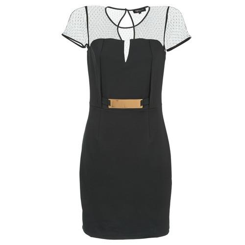 Υφασμάτινα Γυναίκα Κοντά Φορέματα Morgan ROULA Black