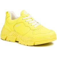 Παπούτσια Γυναίκα Χαμηλά Sneakers S.Oliver Neon Yellow Flat Shoes Yellow