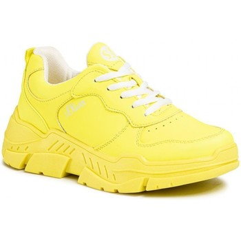Xαμηλά Sneakers S.Oliver Neon Yellow Flat Shoes [COMPOSITION_COMPLETE]