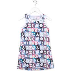 Υφασμάτινα Κορίτσι Κοντά Φορέματα Losan 714 7001AB Ροζ