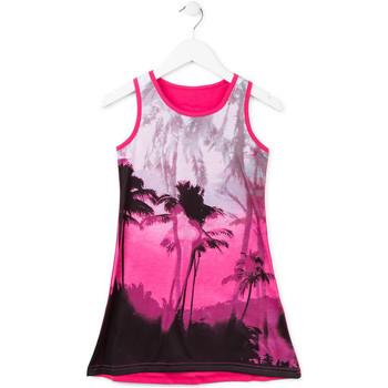 Υφασμάτινα Κορίτσι Κοντά Φορέματα Losan 714 7003AB Ροζ