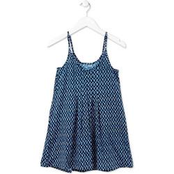 Υφασμάτινα Κορίτσι Κοντά Φορέματα Losan 714 7017AB Μπλε