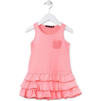 Υφασμάτινα Κορίτσι Κοντά Φορέματα Losan 716 7009AD Ροζ
