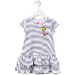 Υφασμάτινα Κορίτσι Κοντά Φορέματα Losan 716 7065AD Μπλε