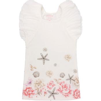 Υφασμάτινα Κορίτσι Κοντά Φορέματα Primigi 37113571 λευκό