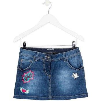 Υφασμάτινα Κορίτσι Φούστες Losan 724 7008AB Μπλε