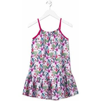 Υφασμάτινα Κορίτσι Κοντά Φορέματα Losan 814-7043AB Ροζ