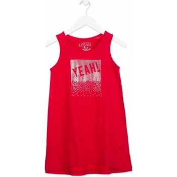 Υφασμάτινα Κορίτσι Κοντά Φορέματα Losan 814-7300AB Ροζ